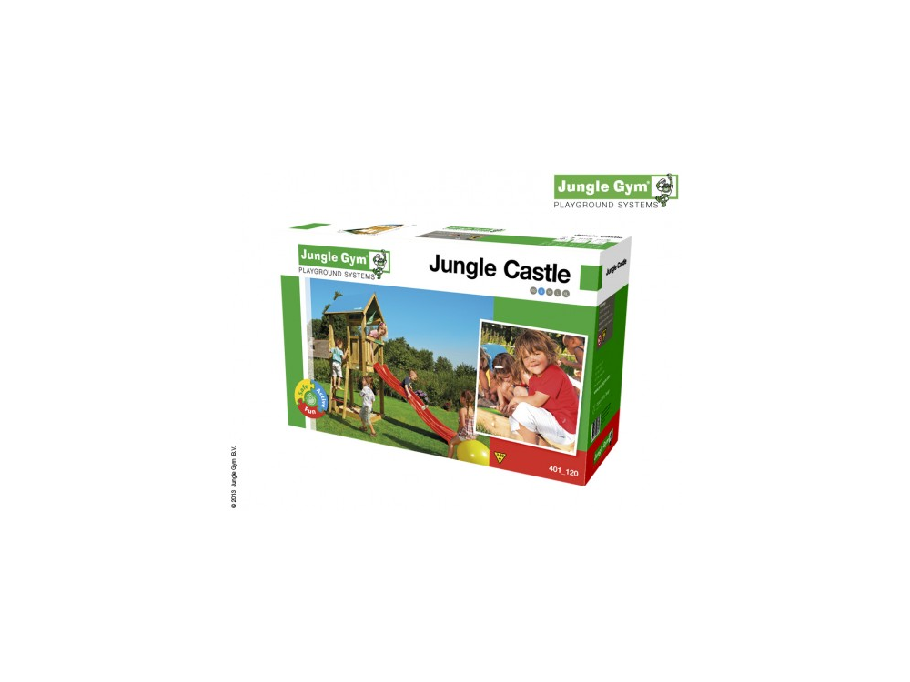 jungle gym castle bausatz ohne holz ebay. Black Bedroom Furniture Sets. Home Design Ideas
